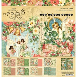 "Joy To The World Collection Pack 12""x12"" Graphic45"