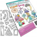 Not So Simple Clear Polymer Stamp Polka Doodles
