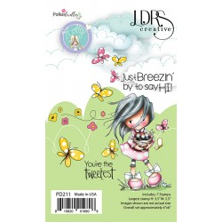 Holly Just Breezin' by Clear Stamps LDRS Creative
