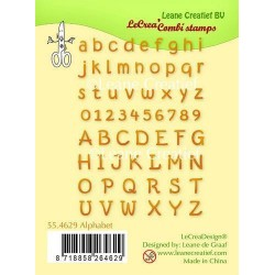 Alfabeto Clear Stamps Leane Creatief