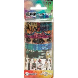 Set 2 Dyan Reaveley's Dylusions Washi Tape Set 7 Rolls