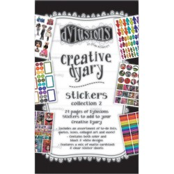 Book 2 Dyan Reaveley's Dylusions Creative Dyary Sticker Book