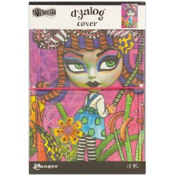 "Believe Dyan Reaveley's Dylusions Dyalog Canvas Printed Cover 5,875""x8,75"""