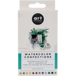 Essence Watercolor Pans 12 Pkg Prima Watercolor Confections Prima Marketing