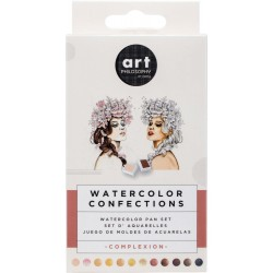 Complexion Watercolor Pans 12 Pkg Prima Watercolor Confections Prima Marketing
