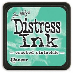 Cracked Pistachio Distress Mini Ink Pads Tim Holtz
