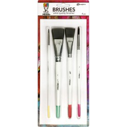 Dina Wakley Media 4 Brushes Ranger