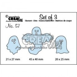 Ghosts Die no.57 CreaLies Set Cutting Die n.57 Crealies