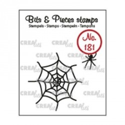 Spider & Web Clear Stamps Leane Creatief
