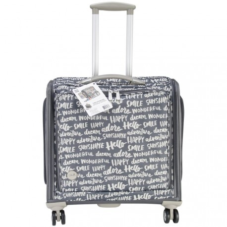 Crafter's Trolley Bag Charcoal We R Memory Keepers