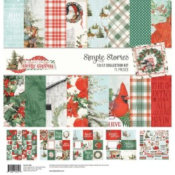 "Country Christmas Collection Kit 12""x12 Simple Stories"