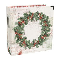 "Country Christmas Sn@p! Binder 6""x8"" Simple Stories"