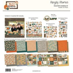 "Fall Farmhouse Collector's Essential Kit 12""x12 Simple Stories"
