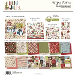 "Holly Jolly Collector's Essential Kit 12""x12 Simple Stories"