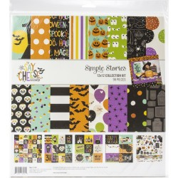 "Say Cheese Halloween Collection Kit 12""x12 Simple Stories"