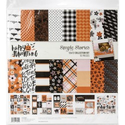 "Happy Haunting Collection Kit 12""x12 Simple Stories"
