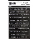 Black Dyan Reaveley's Dylusions Bigger Back Chat Stickers