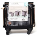 Crafter's Bag Set 2 in 1 Black & White Geometric Print We R Memory Keepers
