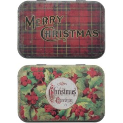 Christmas Trinket Tins Idea-ology by Tim Holtz