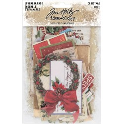 Christmas Ephemera Pack Idea-ology by Tim Holtz