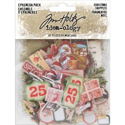 Christmas Snippets Ephemera Pack Idea-ology by Tim Holtz