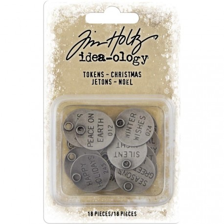 Christmas Tokens Idea-ology by Tim Holtz