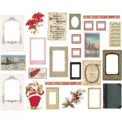 Christmas Layers & Baseboard Frames Idea-ology by Tim Holtz