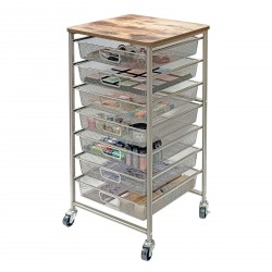 Tim Holtz Signature Design Industrial Storage Cart Idea-ology