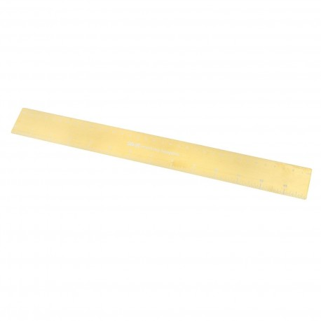 "Gold Magnetic Ruler 14"" We R Memory Keepers"