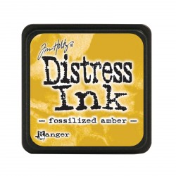 Fossilized Amber Distress Mini Ink Pads Tim Holtz