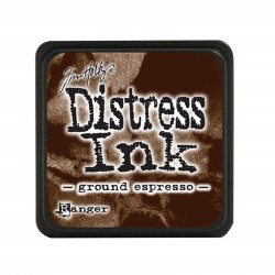 Ground Espresso Distress Mini Ink Pads Tim Holtz