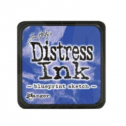 Blueprint Sketch Distress Mini Ink Pads Tim Holtz