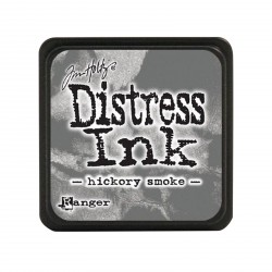 Hickory Smoke Distress Mini Ink Pads Tim Holtz