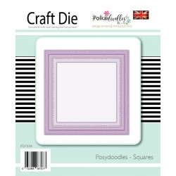 Squares Posydoodles Craft Die Poladoodles
