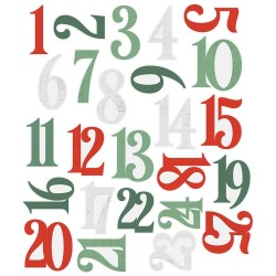 Simple Vintage Country Christmas Number Pocket Pieces Simple Stories
