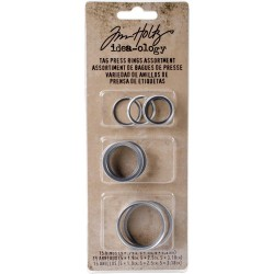 Tag Press Rings Assortment x Tag Press Tim Holtz