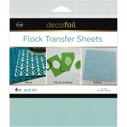 Blue Sky Flock Transfer Sheets