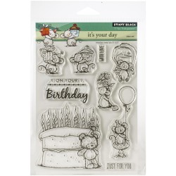 It's Your Day Clear Stamps Set Penny Black