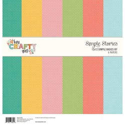 "Hey, Crafty Girl Basics Kit 12""x12 Simple Stories"