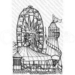 The Big Wheel Set di Timbri Picture This Creative Endeavours