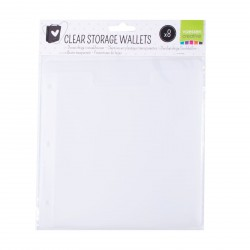 Clear Storage Wallets x Storage Folder Vaessen Creative