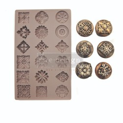 Curio Trinkets Re-Design Decor Mould Prima Marketing