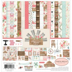 "Farmhouse Market Collection Kit 12""x12"" Carta Bella"