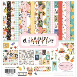 "Oh Happy Day Collection Kit 12""x12"" Carta Bella"