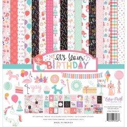 """It's Your Birthday Girl 12""""x12"""" Collection Kit Echo Park"""