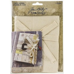 "Fabric Journal 4""x6"" Idea-ology by Tim Holtz"