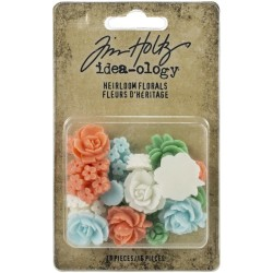 Heirloom Florals Idea-ology by Tim Holtz