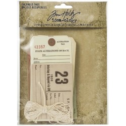 Salvaged Tags Idea-ology by Tim Holtz