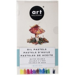Basics Oil Pastels Water Soluble Art Philosophy Prima Marketing