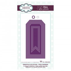 Tags & Banners Craft Dies Essentials Collection Creative Expressions